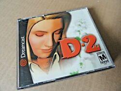 D2 Sega Dreamcast 2000 Complete Tested Great Shape Clean Discs - Very Nice