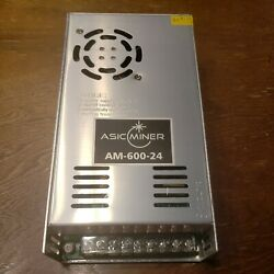 Asic Miner Am-600-24 600w Regulated Switching Power Supply