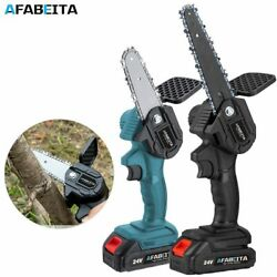 4/6 Inch 1200w Mini Pruning Saw Electric Chainsaws Removable For Fruit Tree