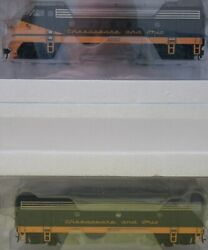 Walthers Proto 920-40913 Chesapeake And Ohio Cando Phase 2 Low F7a F7b Dcc And Sound