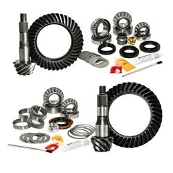 For 16-newer Toyota Tacoma W/8.75 Inch Rear 4.88 Ratio Gear Package Kit Nitro Ge