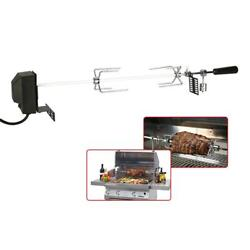 Automatic Bbq Grill Rotisserie Electric Motor Spit Roaster Pig Chicken Beef Tool