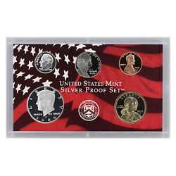 2006 S Partial Proof Set Kennedy Dime Nickel Cent 90 Silver Us Mint 5 Coins