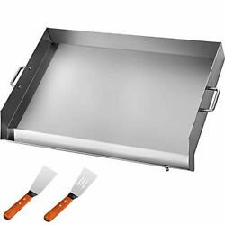 Vevor Universal Flat Top 36 X 22 Griddle For Bbq Grills Stainless Steel Non...