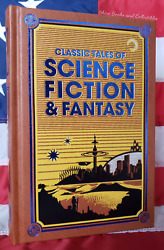 New Classic Tales Of Sci-fi And Fantasy Bonded Leather Collectible Ed Hardcover