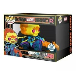 Funko Pop Ghost Rider Black Light Funko Exclusive Sold Out Preorder Confirmed