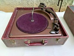 Vintage Webster Chicago 165-1a Turntable Phonograph Record Changer Player
