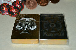 House Of The Rising Spade Room 17 Gilded Playing Cards In Cellophane New