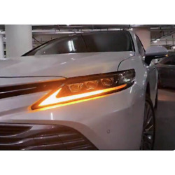 Full Led Headlights For Camry Head Lamps 2017-2020 Year North American Version