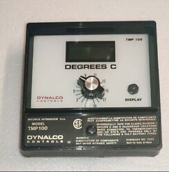 Dynalco Digital Pyrometer Dc Powered Tmp100-20 In Degrees Celcius -200 To +400