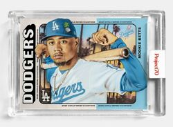 Topps Project 70 Card 268 - Mookie Betts By Tyson Beck - Presale