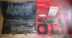 Milwaukee 1 9/16 Sds Max Rotary Hammer 5317-21 W/ Case, Drill Bits, And Chisels