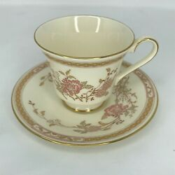 Royal Doulton Romance Collection Lisette Cup And Saucer 1981 Vintage