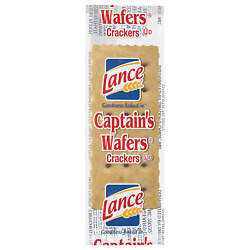 Wafers Crackers Individual Pack For Restaurant Delis Cafeterias Box Of 500 Lance