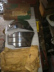 Chevy 49 50 1949 1950 Trim Mouldings Pair Very Rare. For Front Fenders
