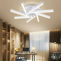 Modern Ceiling Led Lights Living Room Bedroom Deco Dimmable Remote Control New