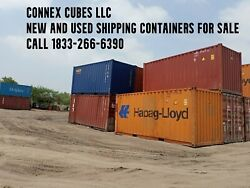 20' Used Shipping Container Storage Container Detroit Michigan