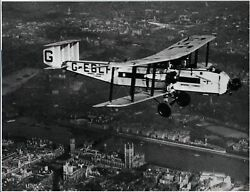 Imperial Airways Armstrong Whitworth Argosy G-eblf Vintage Manufacturers Photo