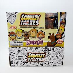 Scooby Doo Squeezy Mates Display Box 24 Sealed Blind Bags Foam Figures Invb