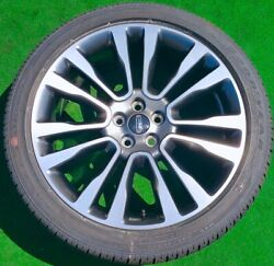 Factory Lincoln Continental Wheels Tires 4 New 2020 Original Genuine Oem 20 Inch