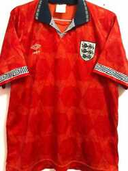 Jersey England Us Cup 1993 - Autographed By The Players