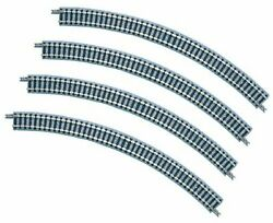 Tomix N Gauge 1851 Radius 45 Curve Track C280-45 4 Pieces N Scale F/s Wtrack