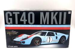 New Acme 112 1966 Ford Gt40 Mkii 2nd Place 1966 24 Hrs Le Mans M1201003 Dmg Box