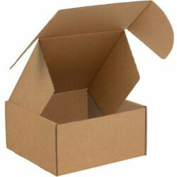 Boxes Fast Bfmfl10105k Deluxe Literature Cardboard Mailers 10 X 10 X 5 Inches...