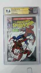 Amazing Spider-man 361 Cgc 9.6 4x Signed By Stan Lee, Todd Mcfarlane Emberlin +