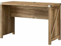 Kathy Ireland Home By Bush Furniture Cottage Grove 48 Writing Desk Reclaimed