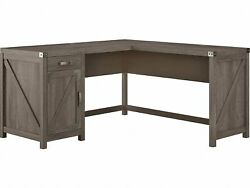 Kathy Ireland Home By Bush Furniture Cottage Grove 60 L-shaped Desk With Drawer
