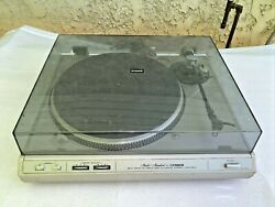 Vintage Fisher Mt - 6410 Turntable Phonograph Record Changer Player