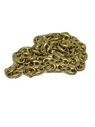 Chain Gold 18 Carat Man Bean 19 11/16in Occasion In Landrsquocondition Or Recondition
