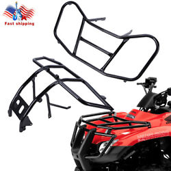 Front Rack Carrier And Front Bumper For Honda Trx250te Trx250tm Recon 250 2005-20