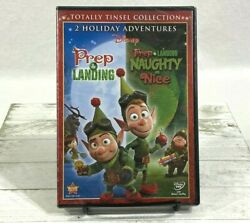 Prep And Landing Naughty Vs. Nice Dvd 2 Movie Collection Disney New Sealed