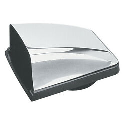 Seadog 331320-1 Stainless Cowl Vent W/ Black Plastic Base 3in-4in Vent Hose