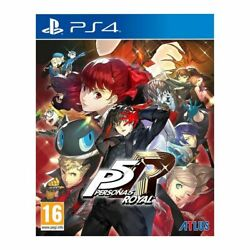 Persona 5 Royal Standard Edition Ps4 Brand New And Sealed - Free Postage