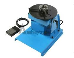 Rotary Welding Positioner 0-90anddeg Weld Turntable Table 65mm 80mm 3 Jaw Chuck 10kg