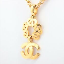Coco Mark 97p Necklace Gold Plated Gold
