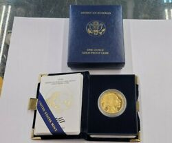 United States Mint 2006-w American Buffalo 50 One Ounce Gold Proof Coin W/coa