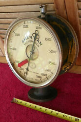 Vintage Rare 10in Schaeffer And Budenberg Double Sided Paper Count Gauge 12-70000