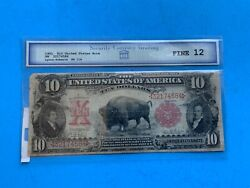 190110 Bison Note. Security Currency Grading Fine 12