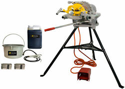 Reconditioned Ridgid® 300 Pipe Threader 15682 With Threading Oil
