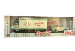 M2 Machines Coca-cola 1956 Ford Coe Truck And 1956 Ford F-100 Chase 1/750 New 2021