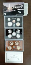 2013 Us Mint Silver Proof Complete 14-coin Set With Box And Coa