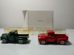 Diecast 1/32 Scale National Motor Museum Ford F-1 And F-100 Pickup Trucks
