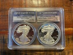 1986-s First Year Issue 2016w 30th Anniversaryeagle Pcgs Pr69 Dcam 1 Of 750