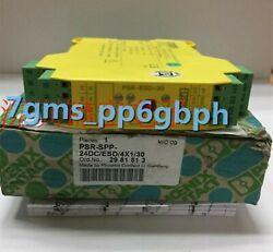 1 Pcs New In Box Phoenix Safety Relay Psr-spp- 24dc/esd/4x1/30 2981813