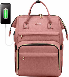 Laptop Backpack For Women Fashion Travel Bags Business Computer Purse Work Bag W $48.39