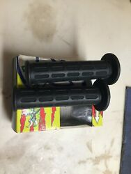Nos Domino Tommaselli Hand Grips Set L. 130mm D. 22mm - 24mm 1082.82.40.06